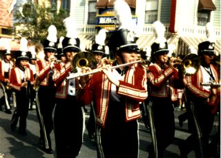 Marching Band on Main Street